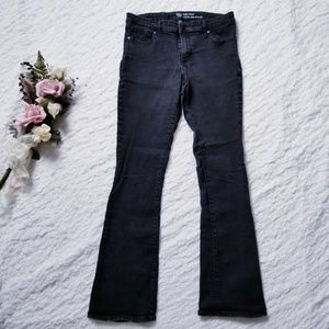 GAP baby boot black jeans with Stretch Size 12/31